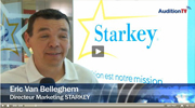 Présentation d'Halo par le Directeur Marketing de Starkey France